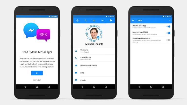 To Facebook προσθέτει SMS στην Android έκδοση του Messenger