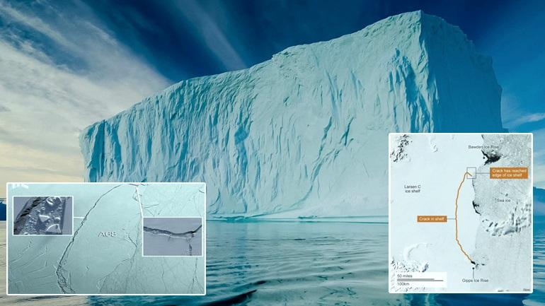 """Το παγόβουνο του """"θερμοκηπίου"""""""