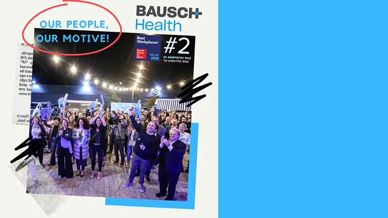 BAUSCH Health Hellas - 2η θέση στα Best Workplaces 2020