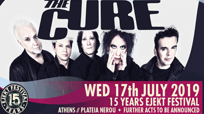 «Ejekt Festival 2019: The Cure»  στην Πλατεία Νερού
