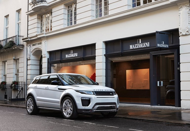 To Range Rover Evoque