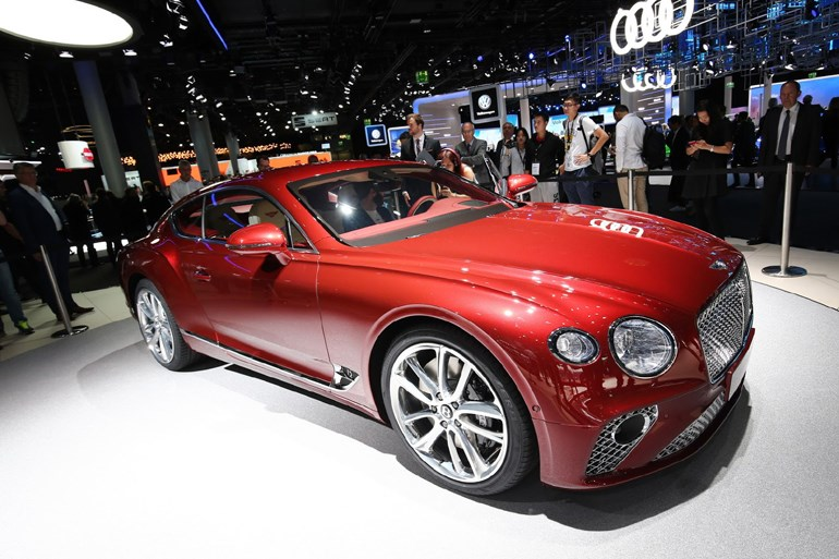 Η νέα γενιά Bentley Continental GT