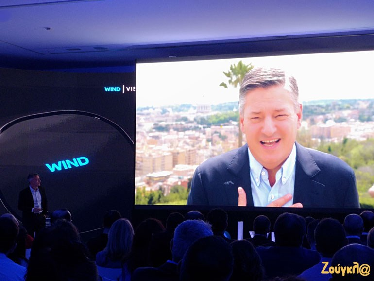 O Ted Sarandos, Chief Content Officer της Netflix, μιλά για τη συνεργασία με την WIND