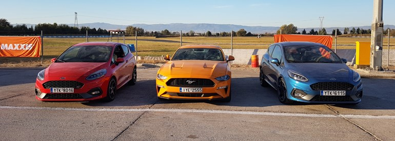 Ford Mustang, Ford Fiesta ST και Ford Focus
